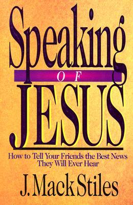 Theology book #5 – Speaking of Jesus by J Mack Stiles