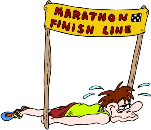 Marathon Finish Line