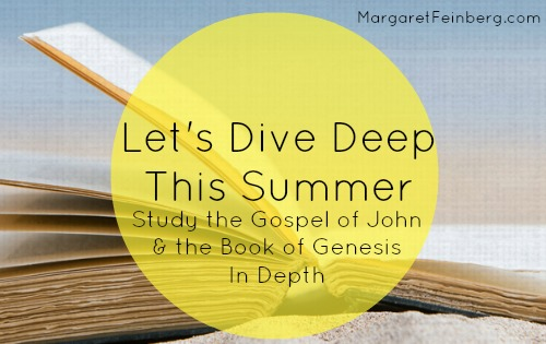 Summer Bible study – Pursuing God – Join me!